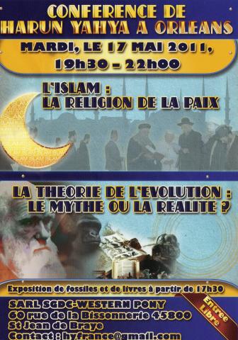 conférence d'harun Yahya