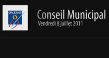Conseil municipal 08/07/2011